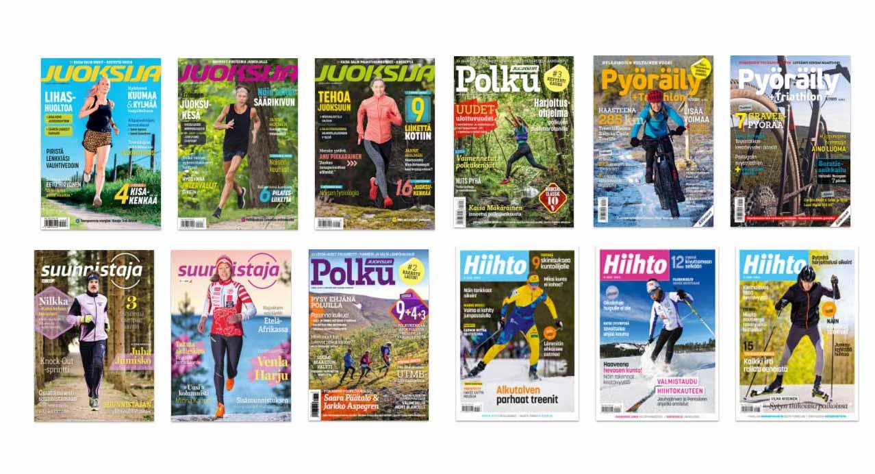 Juoksija lehtiarkisto